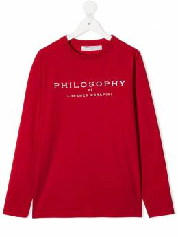 Philosophy Di Lorenzo Serafini Kids толстовка с длинными рукавами PJTS46JE95BZH011