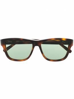 Brioni солнцезащитные очки в оправе черепаховой расцветки BR0081S002