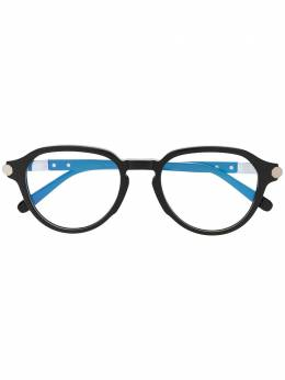 Brioni очки в круглой оправе BR0079O