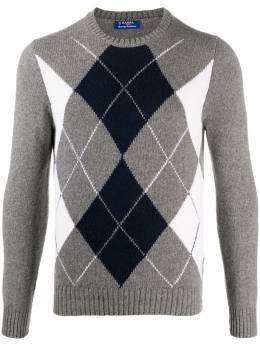 Barba свитер с длинными рукавами и узором 2261213520
