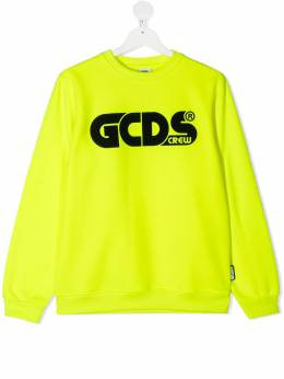 GCDS Kids толстовка с логотипом 025775