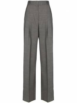 Salvatore Ferragamo прямые брюки с завышенной талией 131323