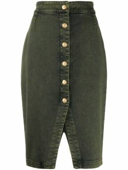 L'Autre Chose юбка миди на пуговицах B1540533080