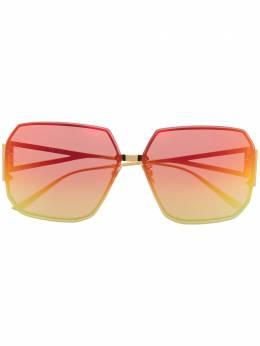 Bottega Veneta Eyewear солнцезащитные очки с градиентными линзами BV1085SA