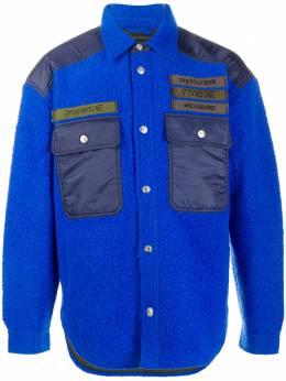 Diesel куртка с контрастным карманами A005300KAYW