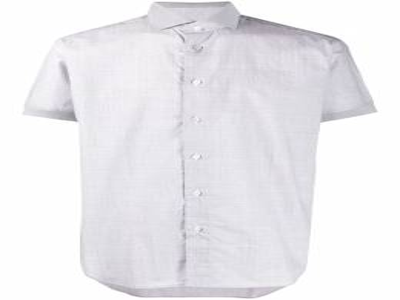 Brioni рубашка на пуговицах с короткими рукавами SC320MP307S