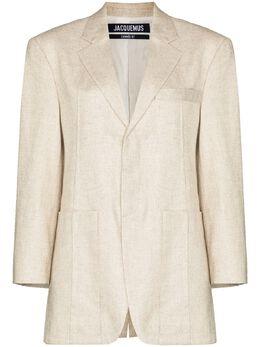 Jacquemus La Veste d'Homme oversized blazer 203JA04203124140
