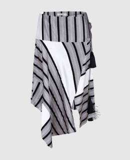 Серая юбка из шелка Etro 2300004014446