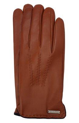 Кожаные перчатки Corneliani 86Q338-0820575/00