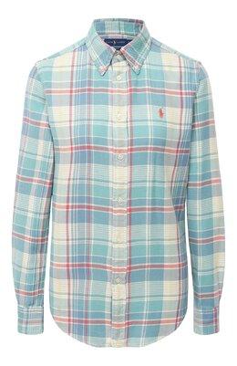 Хлопковая рубашка Polo Ralph Lauren 211801083