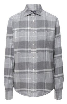 Рубашка из вискозы и хлопка Polo Ralph Lauren 211815409