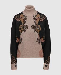 Коричневый свитер из шерсти Etro 2300004438297