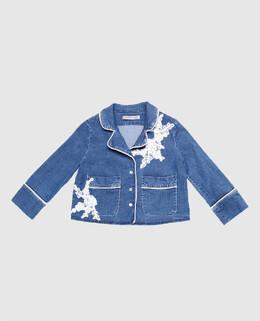 Детский джинсовый жакет Ermanno Scervino 2300004331406