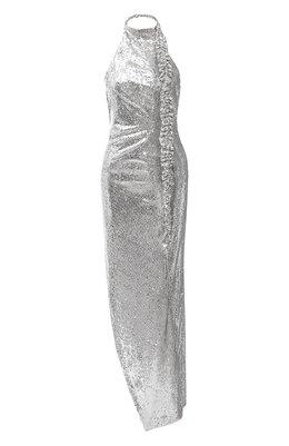 Платье с пайетками Off-White 0WDB268F20FAB0010900