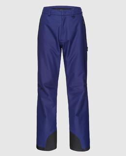Синие лыжные брюки Moncler Grenoble 2300004486274