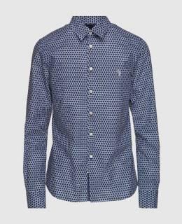 Синяя рубашка Billionaire 2300004415694
