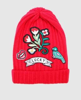 Красная шапка с патчами Ermanno Scervino 2300004462292