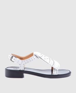 Белые кожаные сандалии Church's 2300004152445