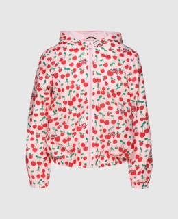 Детская розовая куртка Fendi 2300004591855