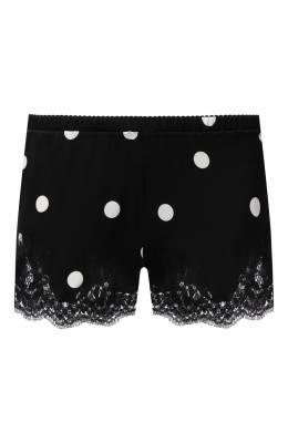 Шорты из шелка и хлопка Dolce&Gabbana 03A02T/FSAY3