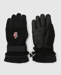 Черные перчатки Moncler Grenoble 2300005086800