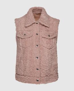 Розовый жилет Brunello Cucinelli 2300004772162