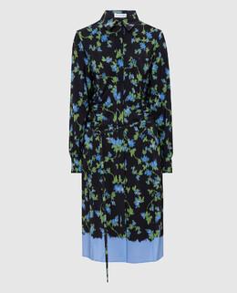 Черное платье из шелка Altuzarra 2300005287986