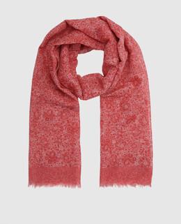 Красный шарф Isaia 2300005154493