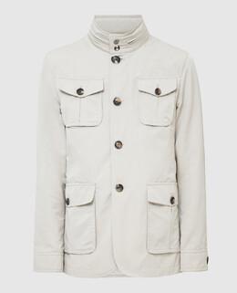 Бежевая куртка Isaia 2300005210489