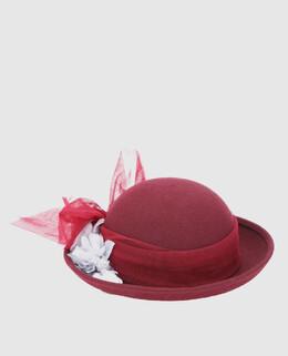 Детская бордовая шляпа Caf 2300004337583