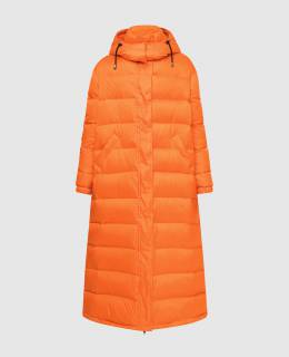 Оранжевый пуховик Simonetta Ravizza 2300005564599