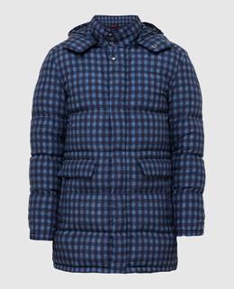 Темно-синяя куртка Isaia 2300005417222