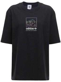 Футболка Оверсайз Adidas Originals 72IGZU080-QkxBQ0s1