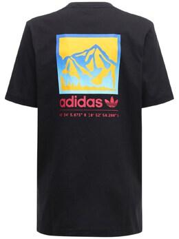 Футболка Adiplore Graphic Adidas Originals 72IGZU078-QkxBQ0s1