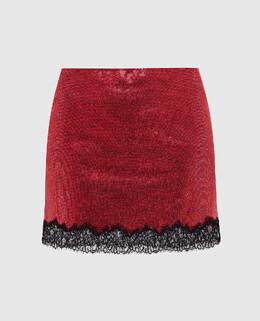 Красная юбка Philosophy Di Lorenzo Serafini 2300005662202