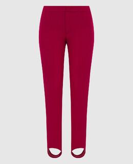 Розовые горнолыжные брюки Moncler Grenoble 2300005688653