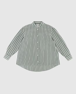Детская зеленая блуза из шелка Brunello Cucinelli 2300005633608