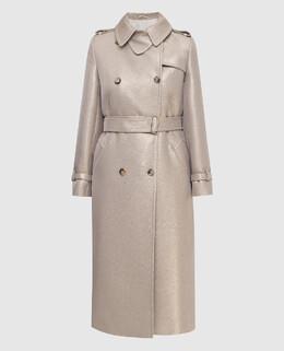 Пальто из шерсти Max Mara 2300005820954