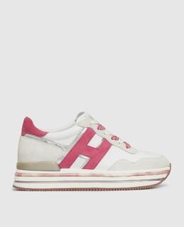 Белые кроссовки Hogan 2300005718800