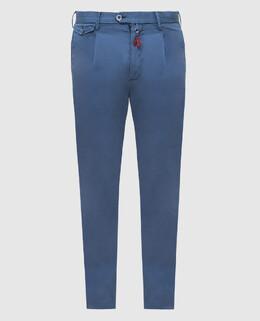 Синие брюки Isaia 2300005783136