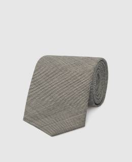 Серый галстук из шерсти Max Mara 2300005848651