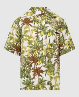 Светло-бежевая рубашка Prada 2300005903411