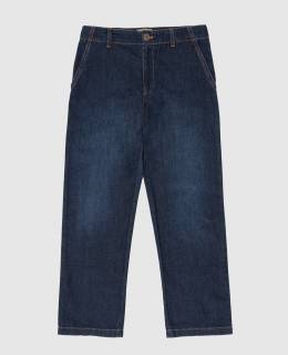 Детские темно-синие джинсы Gucci 2300005920555