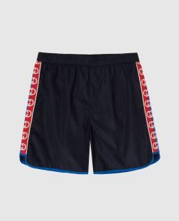 Детские темно-синие плавательные шорты Gucci 2300005920791