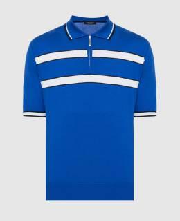 Синее поло Stefano Ricci 2300005807191