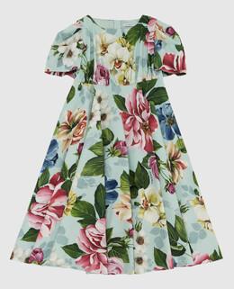 Детское мятное платье Dolce&Gabbana 2300005966133