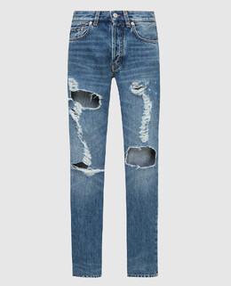 Синие джинсы Givenchy 2300006005268