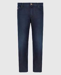 Темно-синие джинсы Stefano Ricci 2300005771515