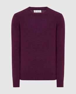 Фиолетовый свитер из кашемира Brunello Cucinelli 2300006083181