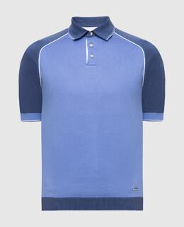 Синее поло Castello D'Oro 2300006153327